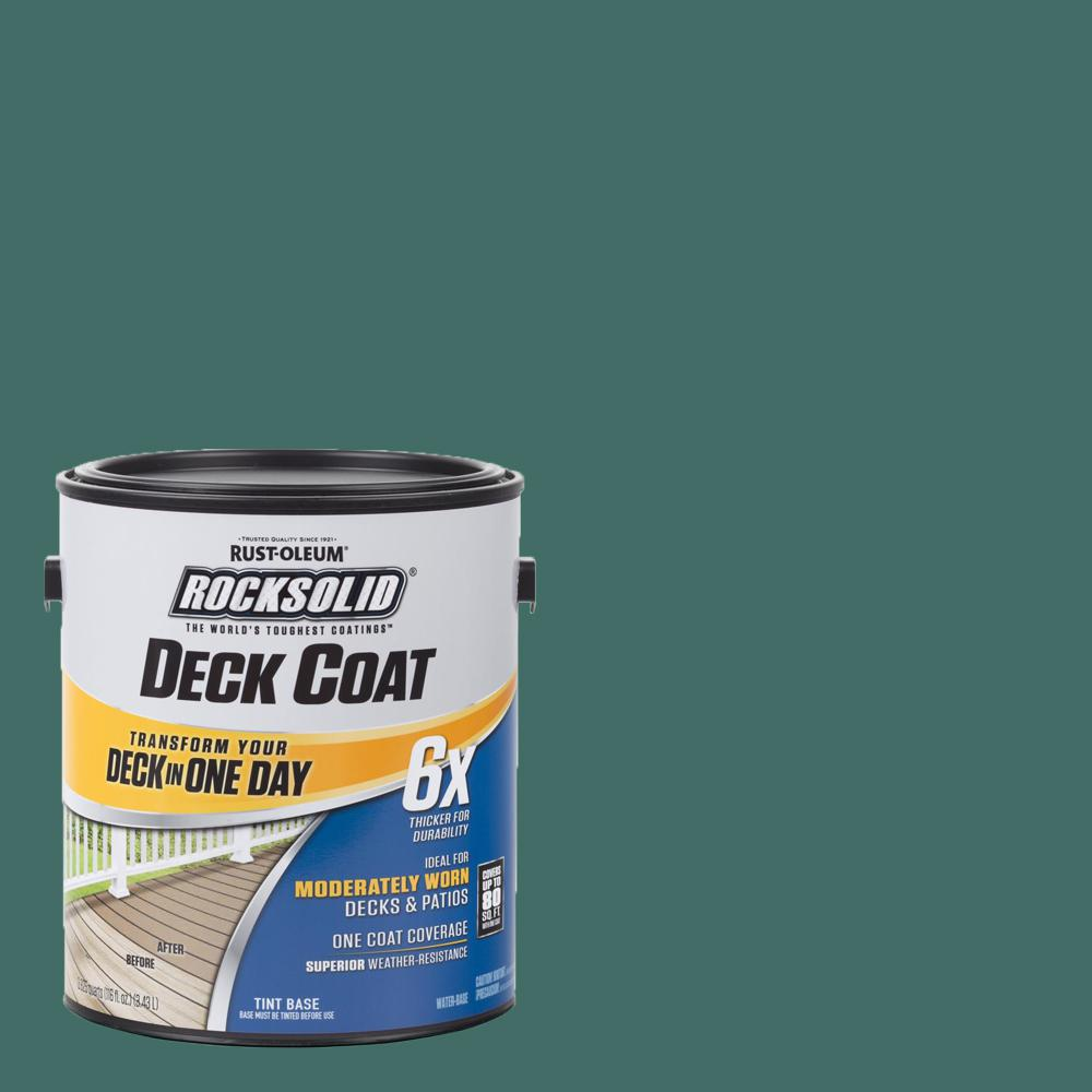 1 gal. Forest Exterior 6X Deck Coat