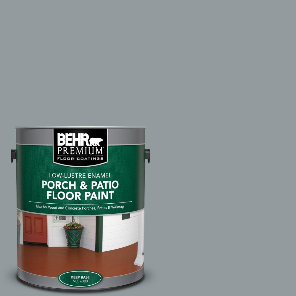 1 gal. #720F-4 Stone Fence Low-Lustre Enamel Interior/Exterior Porch and Patio Floor Paint