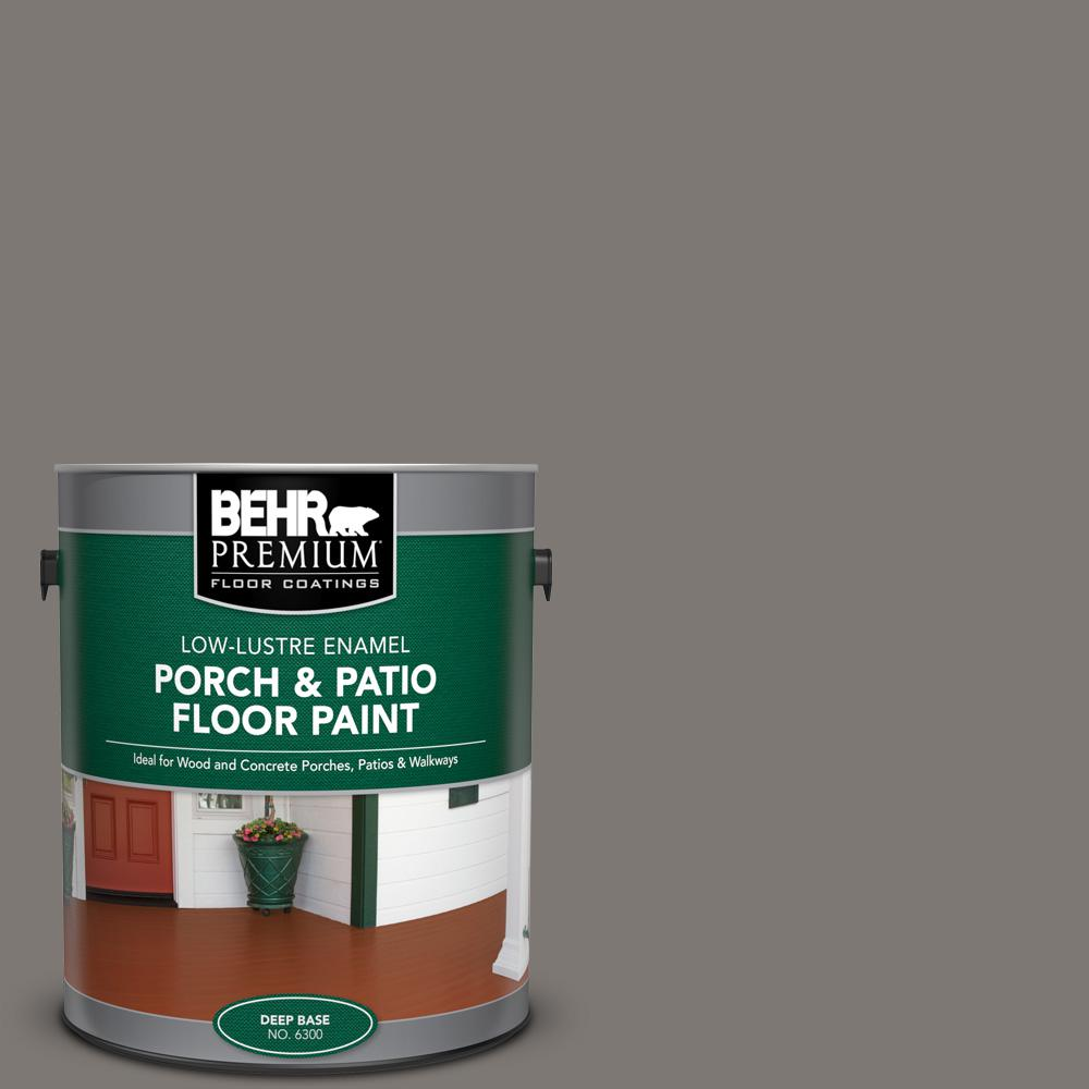 1 gal. #PFC-74 Tarnished Silver Low-Lustre Enamel Interior/Exterior Porch and Patio Floor Paint
