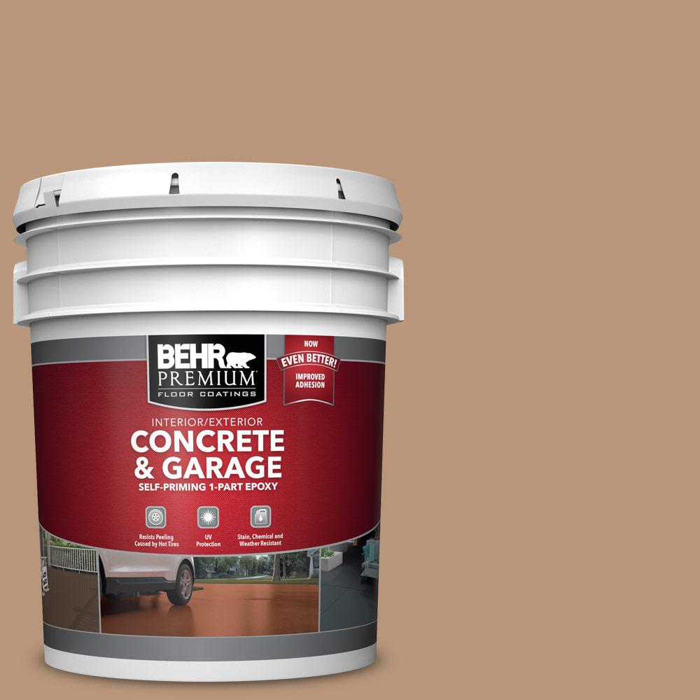 5 gal. #N250-4 Artisan Crafts 1-Part Epoxy Satin Interior/Exterior Concrete and Garage Floor Paint